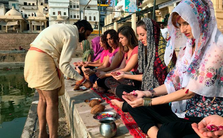 Puskar: lago sagrado - India norte | viajar haciendo yoga - Apasho
