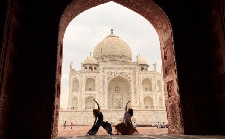 el Taj Mahal - India norte | viajar haciendo yoga - Apasho