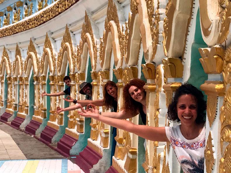Viaje yoga Myanmar - Bienvenidos   apasho yoga