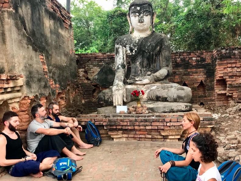 Viaje yoga Myanamar - aventura al estilo slow travelling | apasho yoga