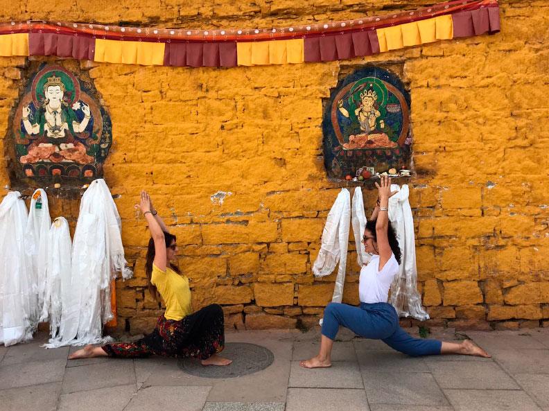Viaje yoga China Tibet Nepal - Bienvenidos | apasho yoga