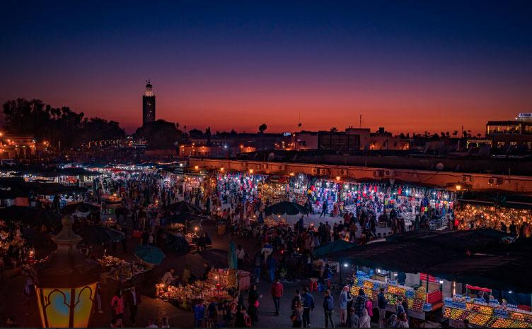 Medina de Marrakech - Marruecos | viajar haciendo yoga - Apasho