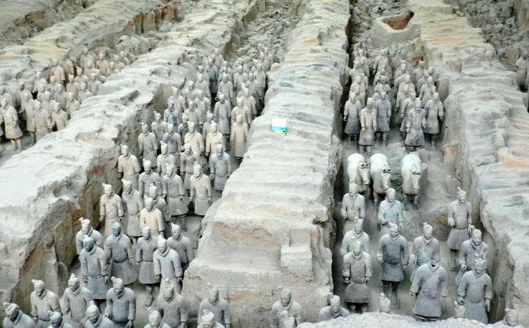 Guerreros de Xian - China | viajar haciendo yoga - Apasho