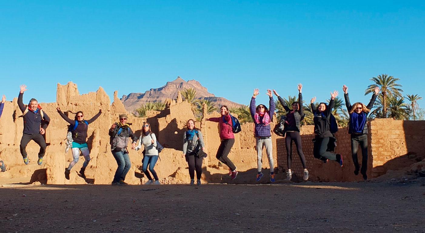 Viaje yoga Marruecos - Foto de grupo | apasho yoga