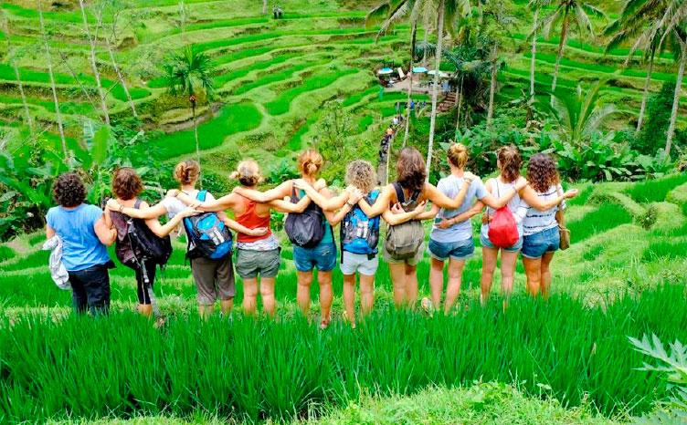 Bali - Arrozales de Ubud | viajar haciendo yoga - Apasho