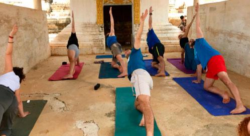 ¿Cuándo haremos yoga? - viaje yoga Myanamar | Apasho yoga