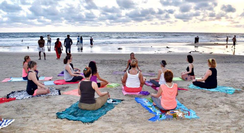 ¿Cuándo haremos yoga? - viaje yoga India sur | Apasho yoga