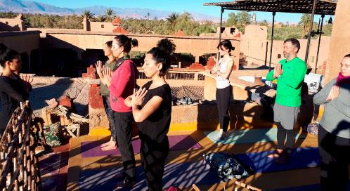 ¿Cuándo haremos yoga? - viaje yoga Marruecos | Apasho yoga