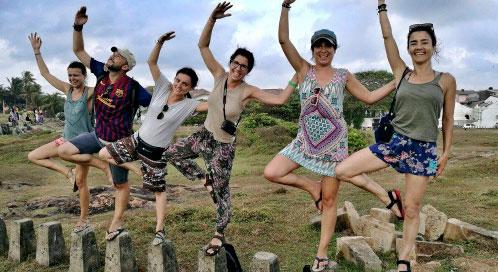 Condición física - viaje yoga Sri Lanka | Apasho yoga