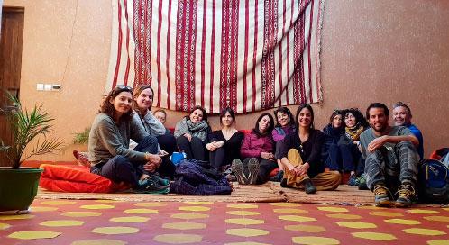 Alojamiento - viaje yoga Marruecos | Apasho yoga