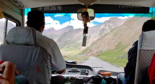 Transporte - viaje yoga China Tíbet Nepal | Apasho yoga