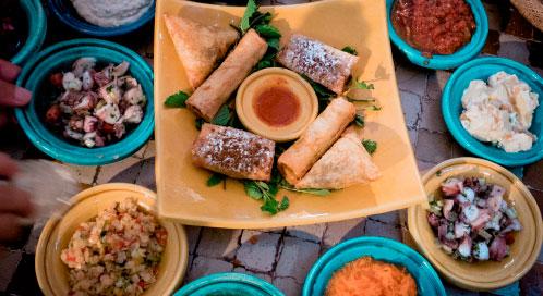 Gastronomía - viaje yoga Marruecos | Apasho yoga