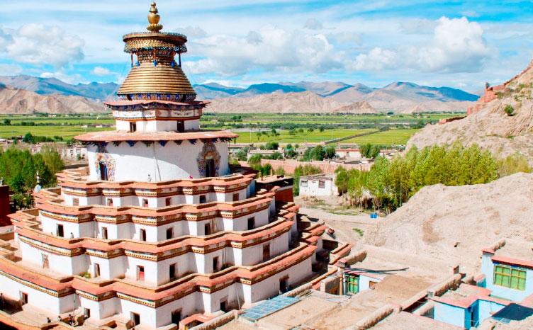 onasterio Tashilunpo, Shigatse - Tíbet | viajar haciendo yoga - Apasho
