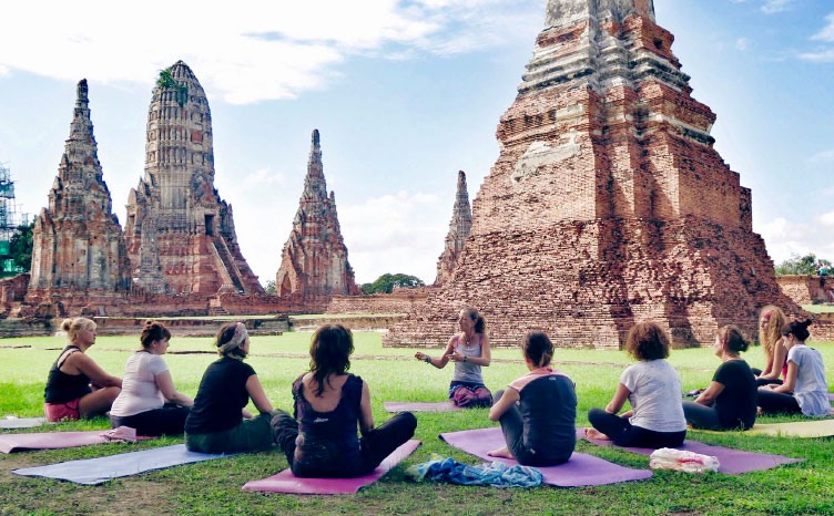 Shukothai con sus famosas ruinas - Tailandia | viajar haciendo yoga - Apasho