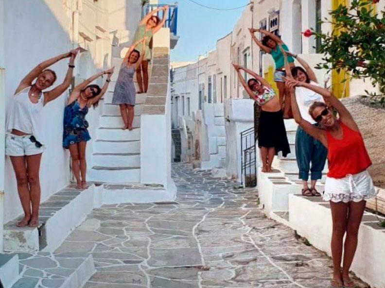 Viaje yoga Grecia - aventura al estilo slow travelling | apasho yoga