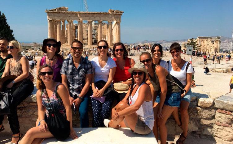 Acrópolis - Atenas | viajar haciendo yoga - Apasho
