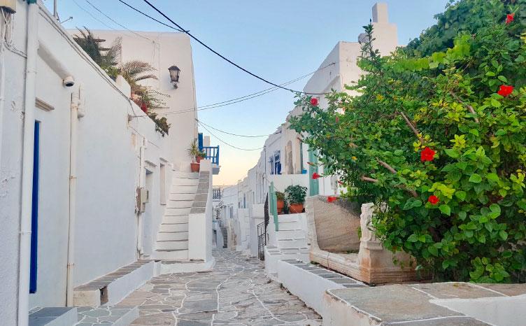 Sifnos - Pueblo de Kastro | viajar haciendo yoga - Apasho