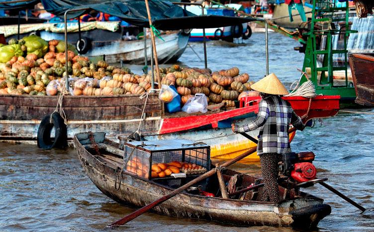 Delta el Mekong - Vietnam | viajar haciendo yoga - Apasho