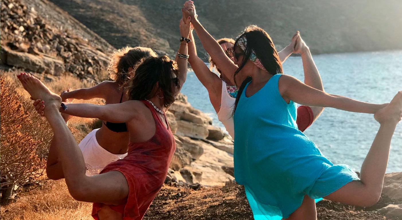Viaje yoga Grecia - slow travel & yoga | apasho yoga