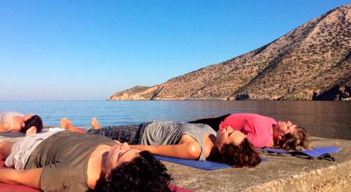 ¿Cuándo haremos yoga? - viaje yoga Grecia | Apasho yoga
