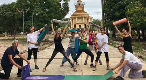 ¿Cuándo haremos yoga? - viaje yoga Vietnam Camboya | Apasho yoga