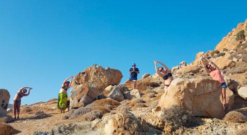 Condición física - viaje yoga Grecia | Apasho yoga