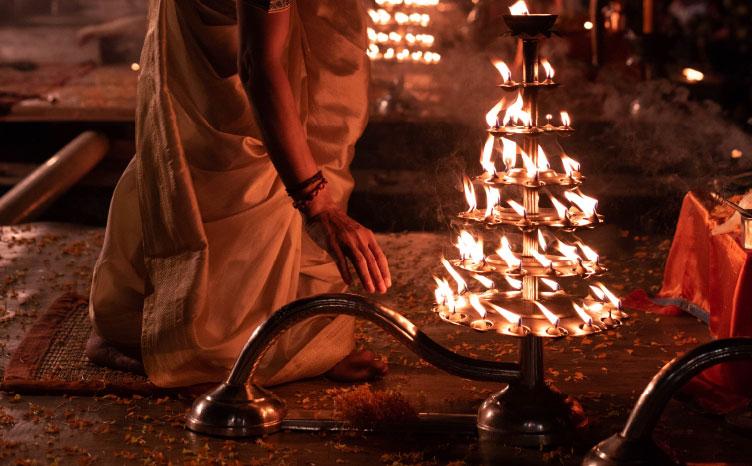 Varanasi: el Diwali - India norte | viajar haciendo yoga - Apasho